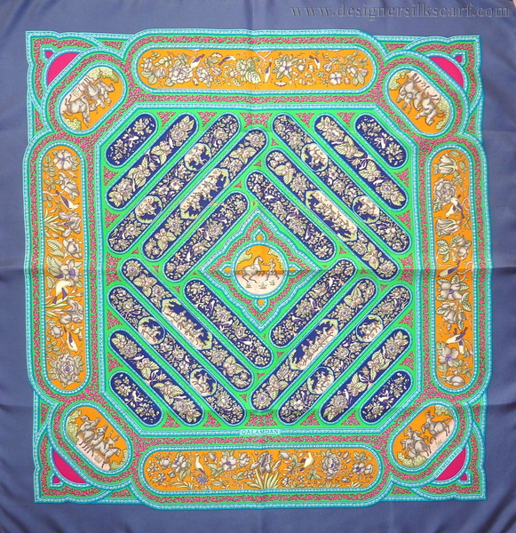 Qalamdan 1990 Catherine Baschet blue green gold.JPG