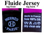 Fluide Jersey tags