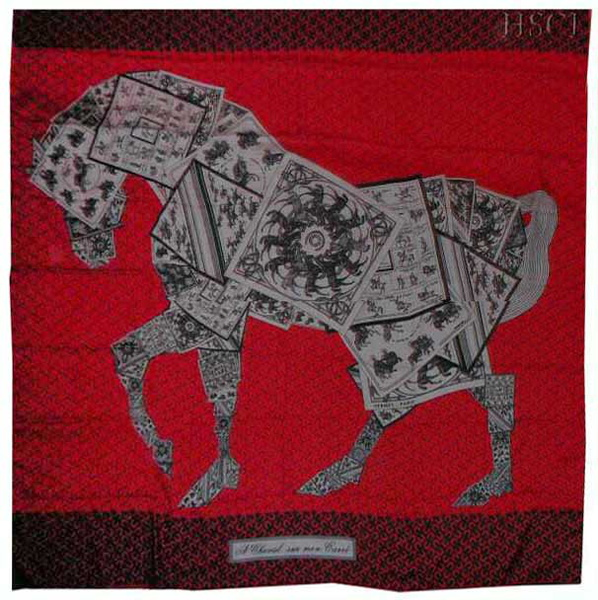 a cheval sur mon carre black gray red gm cashmere.straightened.jpg